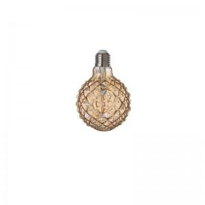 Ampoule amber g80 filament geometrical e27 j-line - jaune J-Line