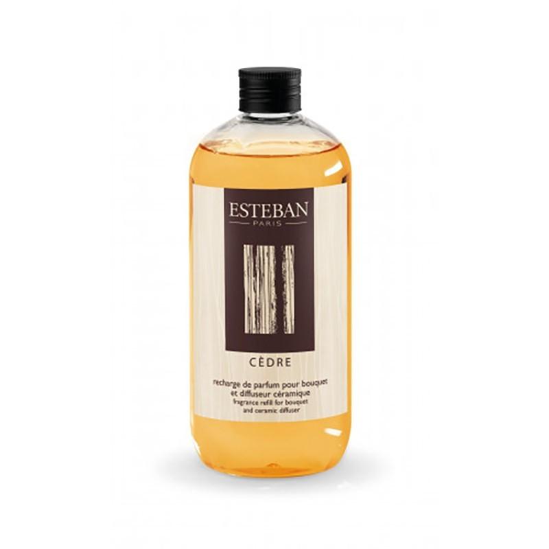 Recharge 500 ml Esteban - Cedre Esteban