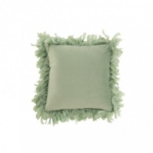 Coussin plumes polyester j-line - menthe J-Line