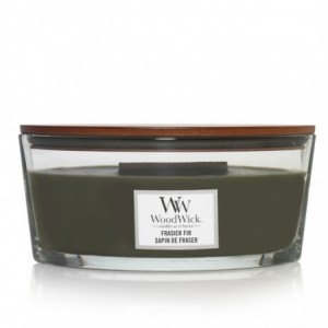 Bougie Ellipse Woodwick Yankee Candle - Sapin de frasier Yankee Candle