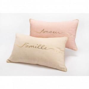 Coussins famille & amour Amadeus - Rose Amadeus