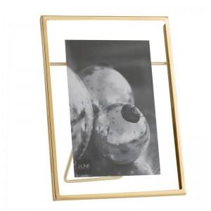 Cadre photo 10x15 transparent j-line - metal or small J-Line