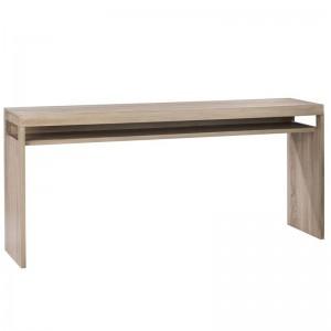 Console 1 planche j-line - bois metal naturel J-Line
