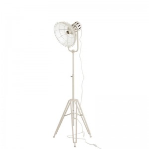 Lampe ronde j-line - metal / verre blanc J-Line