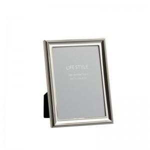 Cadre photo classique 13x18 j-line - metal argent medium J-Line