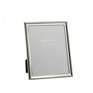 Cadre photo classique 20x25 j-line - metal argent large J-Line